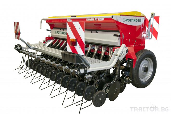 Сеялки Механична сеялка POETTINGER модел VITASEM 0 - Трактор БГ