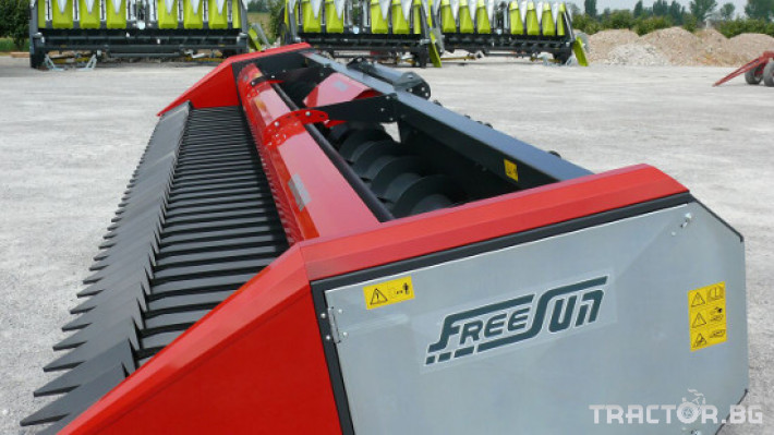Хедери за жътва Безредови хедери за слънчоглед DOMINONI FREESUN 0 - Трактор БГ