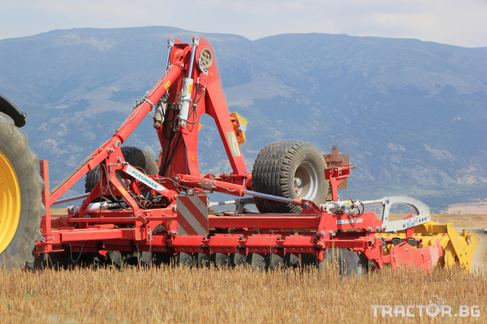 Брани Дискова брана Pottinger Terradisc 6001 K/T 4 - Трактор БГ