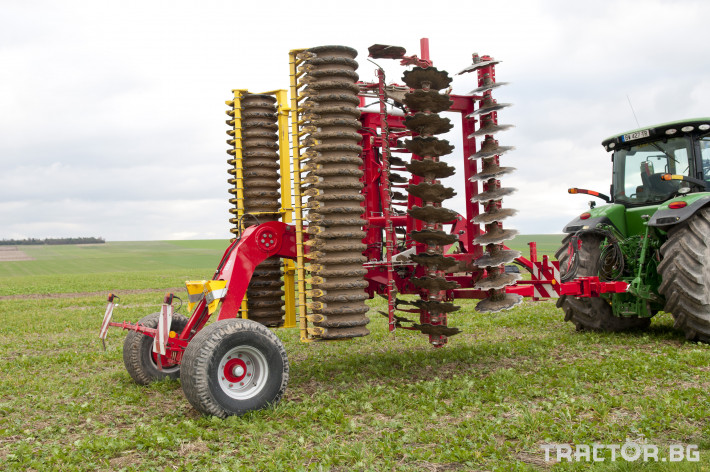 Брани Дискова брана Pottinger Terradisc 6001 K/T 1 - Трактор БГ