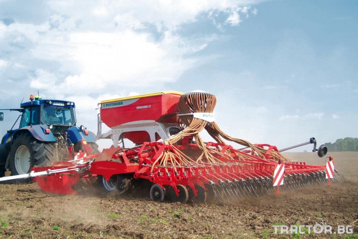 Сеялки Сеялка Pottinger Terrasem C6 4 - Трактор БГ